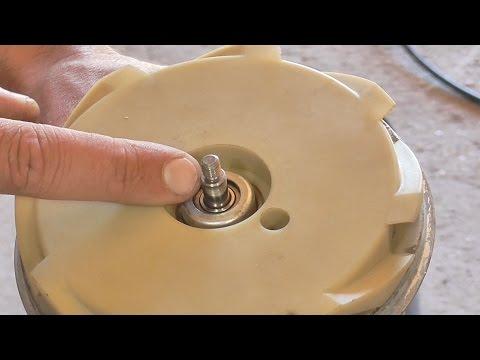 #лучшедома. Что может точно пригодиться от старого пылесоса: частично используем механизм