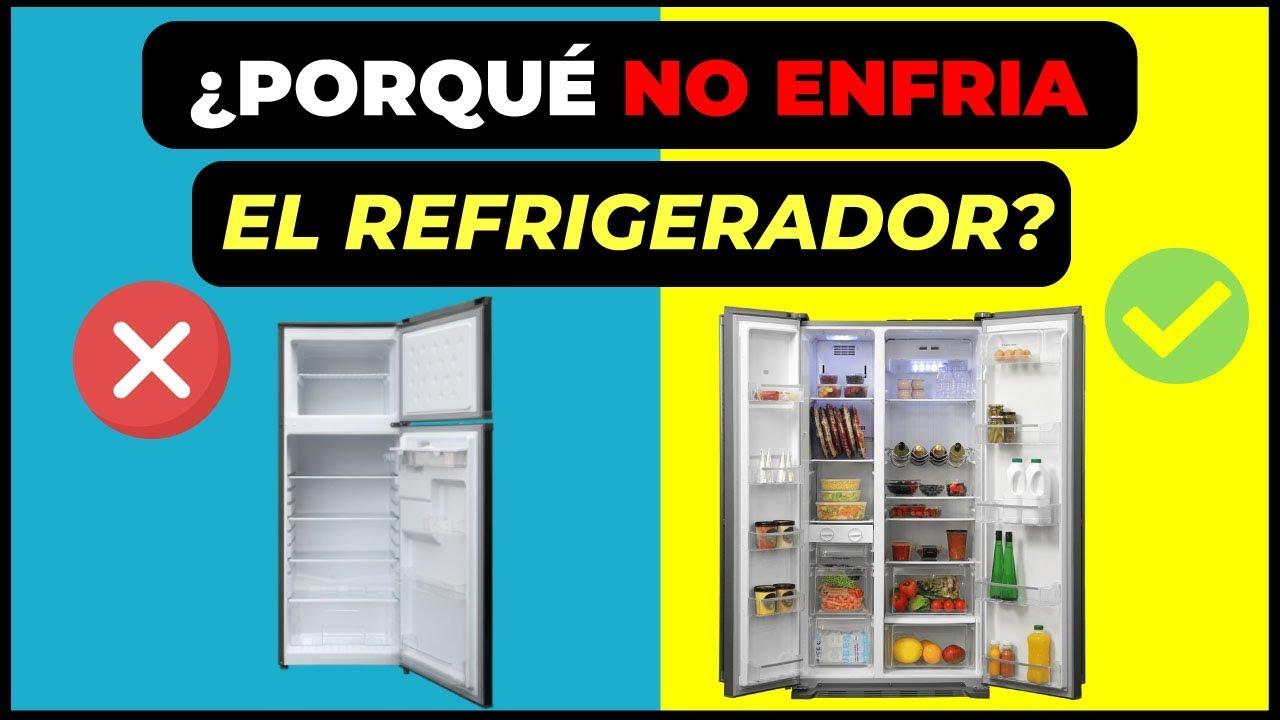 Porque El Refrigerador No Enfria Haz Esto Youtube