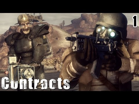 New Vegas Mods: Desert Rangers Contracts - 1