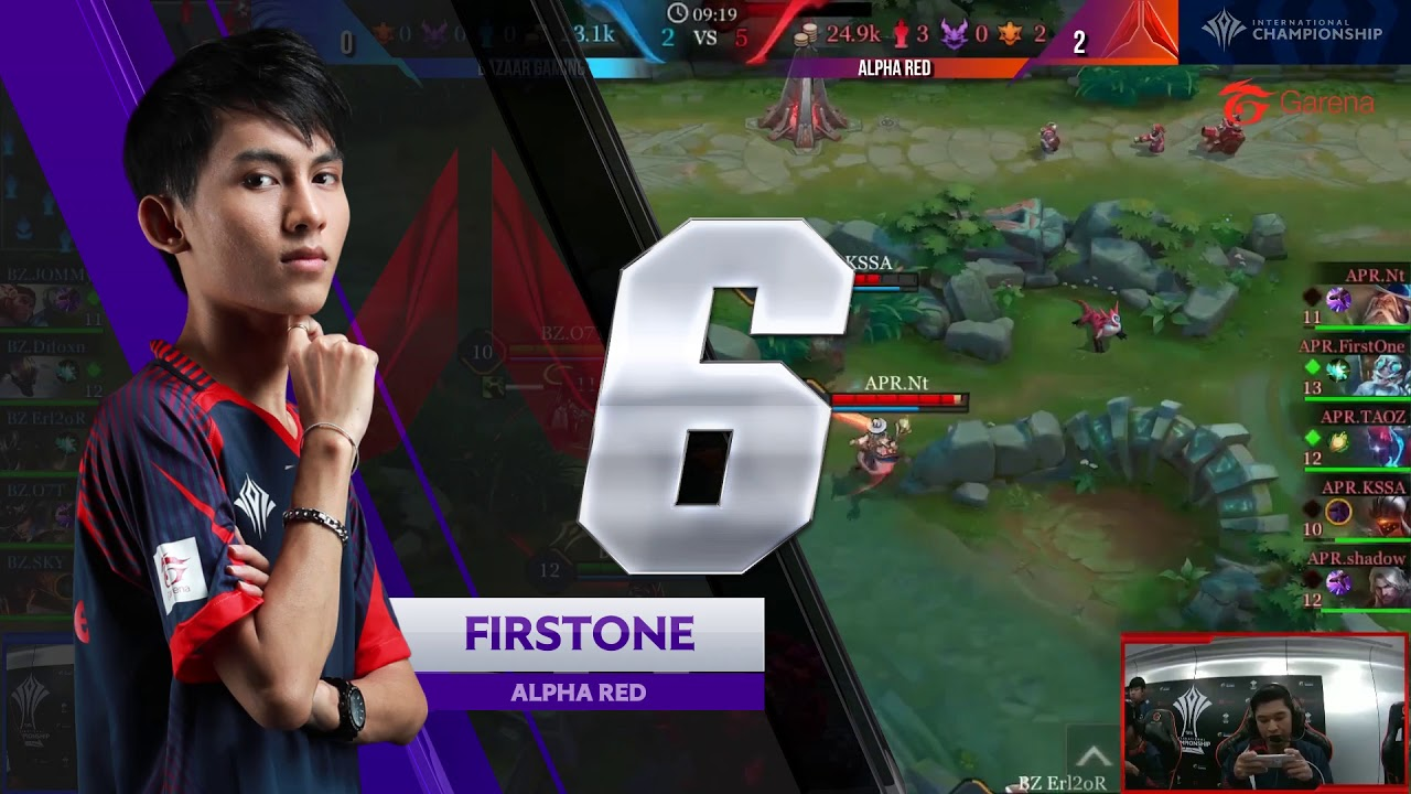 TOP 10 Highlight AIC 2018 - Backdoor terbaik dari OCS - Garena AOV (Arena of Valor)