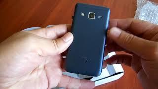 Распаковка Sigma mobile X-Style 28 Flip Blue  из Rozetka.com.ua