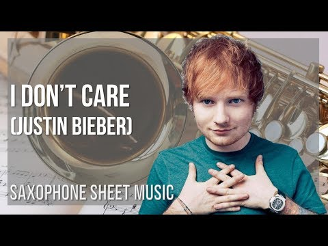 I Don't Care Violin Sheet Music