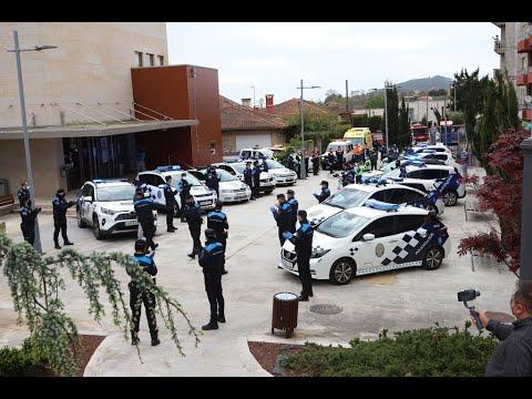 Homenaje en Nigrán al Policía local fallecido