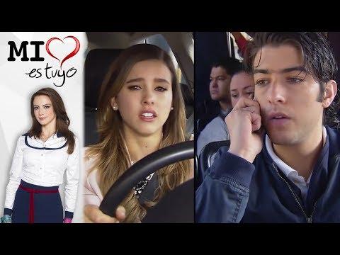 ¡Fany descubre las mentiras de León! | Mi corazón es tuyo - Televisa