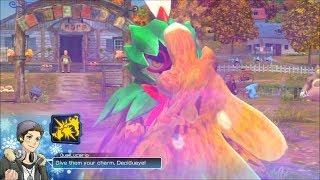 Pokken Tournament DX Online-Gameplay Decidueye (hart zu Spielen, Kein Mikrofon)