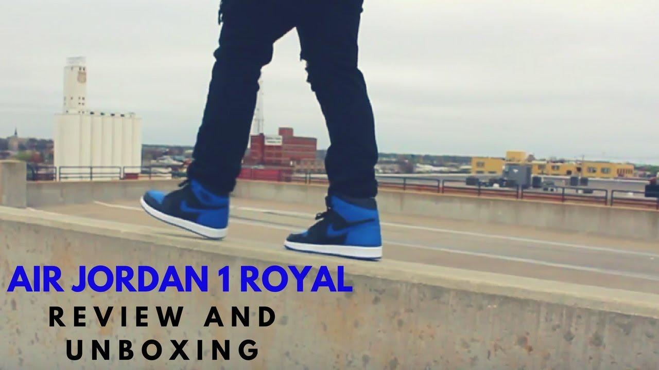 927aad91c4cb88 Air Jordan 1 Royal Review and Unboxing