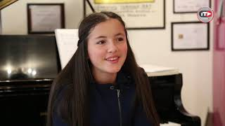 María Hanneman, la niña prodigio del piano