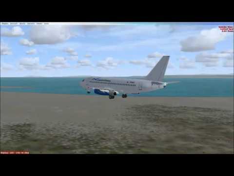Landing in SVMG Boeing 737-200 ( TinmouseII)