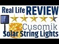 Cusomik Fairy Light Real Life Review
