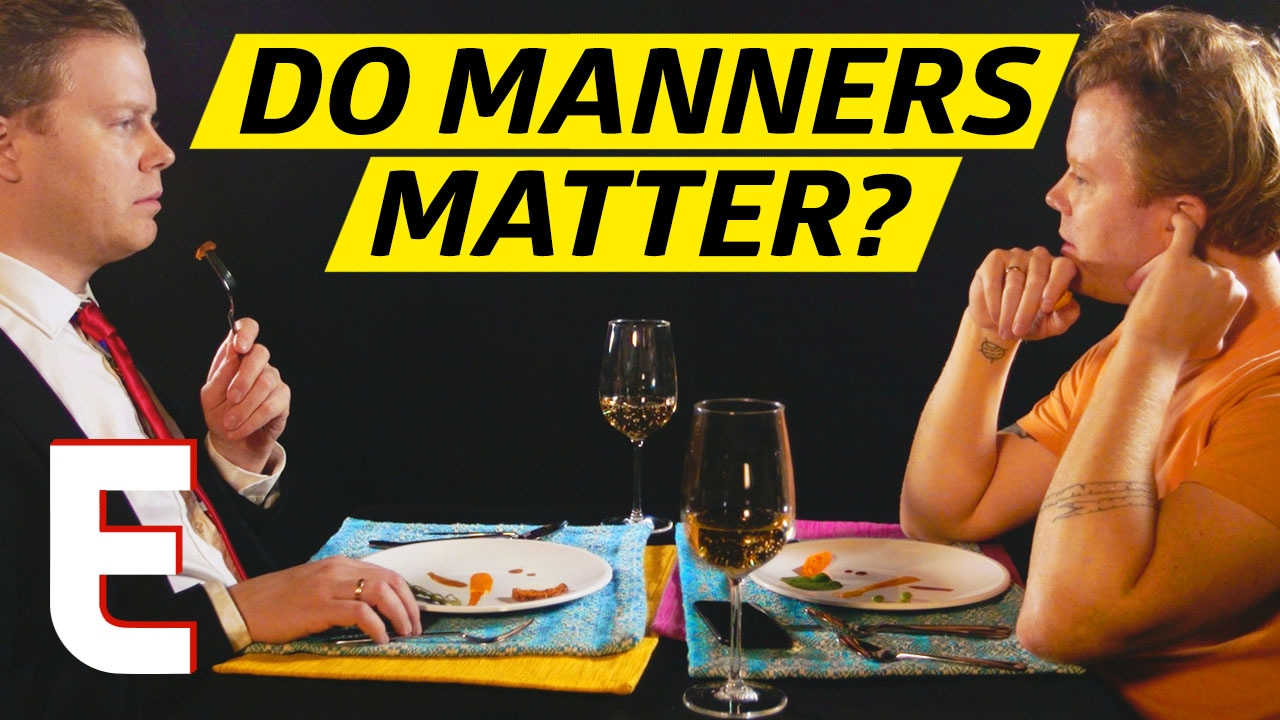 Would Society Crumble Without Good Table Manners Gut Check
