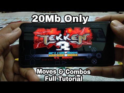 Tekken 3 Download On Android | Moves | Combos | Live Information
