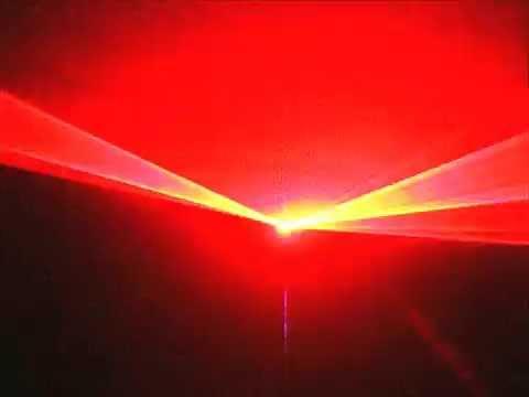100mW Red Lyon Lighting L102R Laser Show System