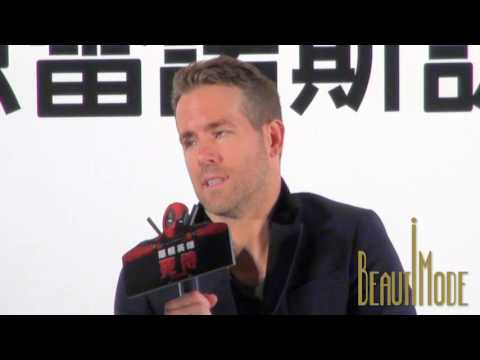 "Ryan Reynolds hopes to work with Chow Yun-Fat 20160122 ""Deadpool"" International Press Conference"