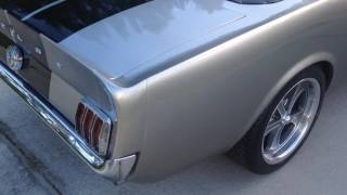 1966 Mustang with removable fastback roof