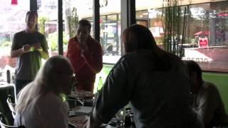 Vegan Drinks - Pizza Fusion Santa Monica: video by Eco-Vegan Gal
