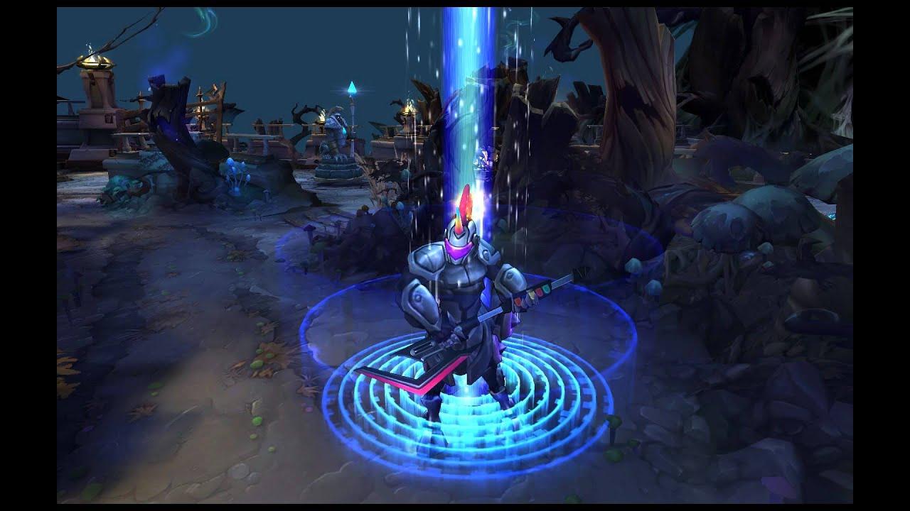 League of Legends - Arcade Hecarim (Recall Animation ...
