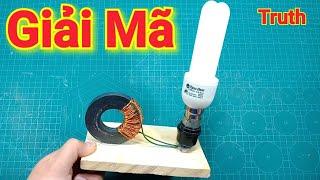 Giải Mã Máy Phát Điện Miễn Phí Từ Nam Châm và Bóng Compact - Truth Free Energy Device