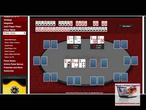 how to calculate poker odds outs youtube. Black Bedroom Furniture Sets. Home Design Ideas