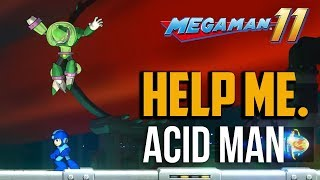 A guide on how to beat the acid man boss in megaman 11. This boss i...