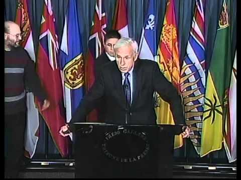Hassan Diab Press Conference, Ottawa, April 13, 2012