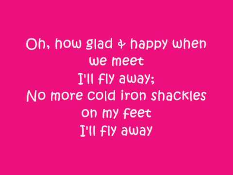I'll Fly Away, Gillian Welch Lyric Video (: