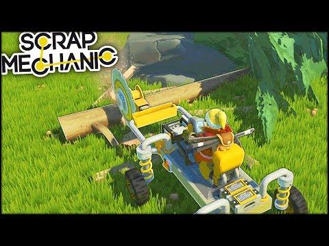 Taietorul de lemne! SURVIVAL! | Scrap Mechanic