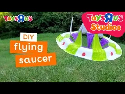 make a flying saucer DIY