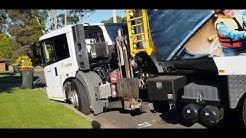 City Of Parramatta The Hills Shire Council Recycling Collection California District #SL804 SUEZ, USA