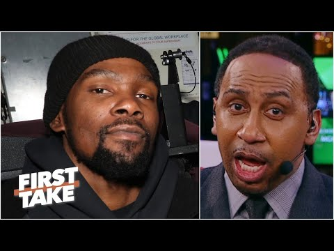 'KD Is Coming!' - Stephen A. Predicts The Nets Will Be Title Contenders Next Season | First Take