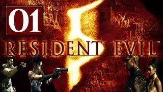 Vamos Jogar Resident Evil 5 - parte 1