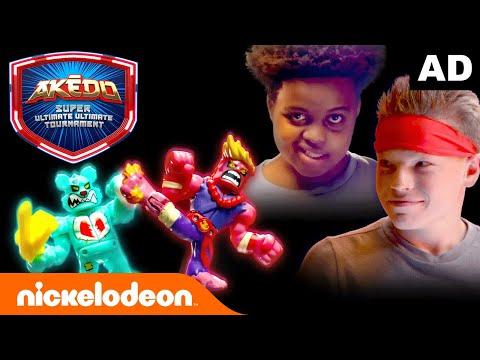 Download Akedo CLASH of LEGENDS 💥🥊    ft. Nathan from Unspeakable @Ninja Kidz TV @Onyx Kids