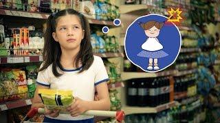 Здоровое питание. Социальный ролик на русском языке.