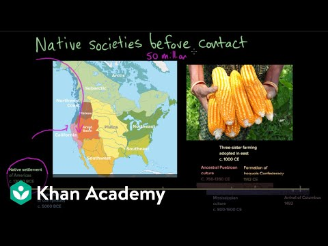 Native American societies before contact | Period 1: 1491-1607 | AP US History | Khan Academy