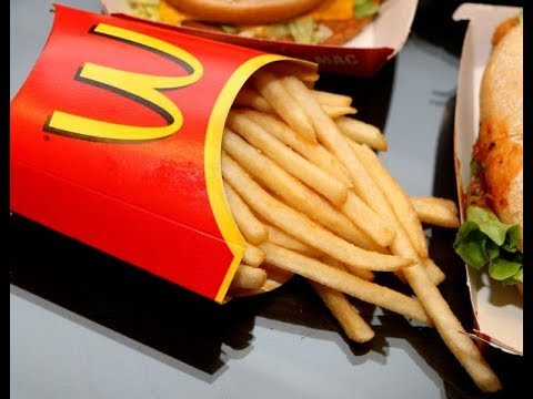 Craig Stevens - McDonald's French Fry Box Has Built-In Spot for Ketchup