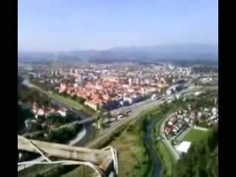 Visit Celje Slovenia, panorama of the city, guide