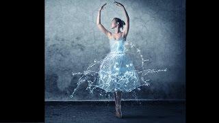 Эффект воды в Фотошопе. Делаем платье с водой и брызгами