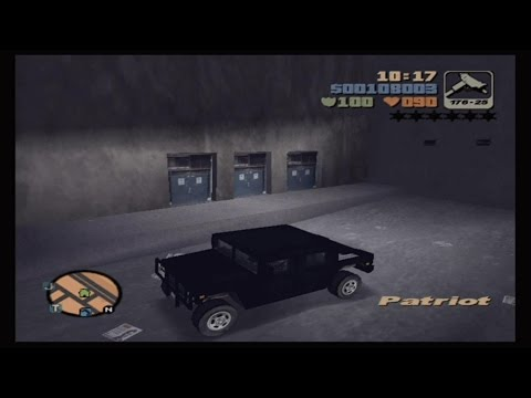 Grand Theft Auto 3 - Secret Car Walkthrough - SC/DP Patriot