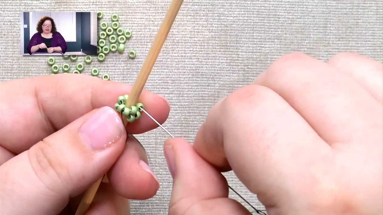 How to create an even count tubular peyote stitch youtube.