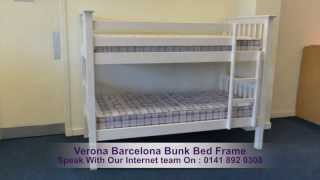 Verona Barcelona Bunk Bed Frame