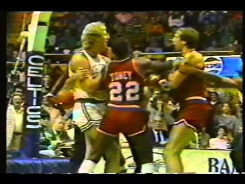 76ers/Celtics: 1983 Preseason Skirmish