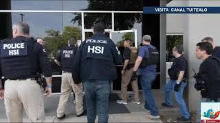 La Migra arresta a 280 empleados ilegales en Texas Mega Redada