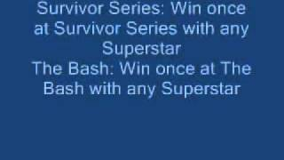Smackdown v.s RAW 2011 cheats unlockables and challenges for PS3, XBOX 360, PS2 and PSP