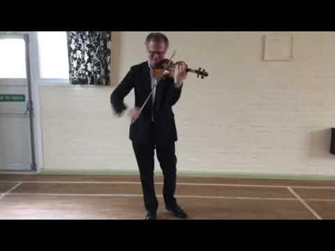 Thomas Bowes plays Bach at Clayhidon Parish Hall,