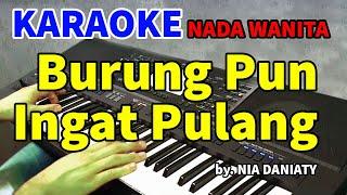 BURUNG INGAT PULANG - Nia Daniaty | KARAOKE HD