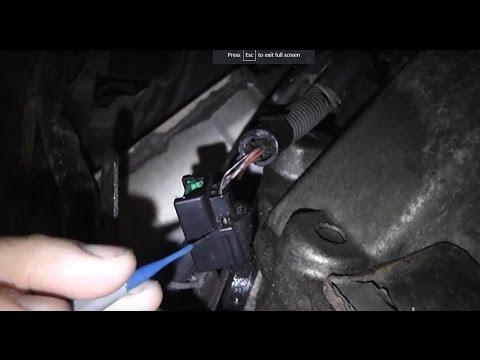 Nissan-Infinity no start, no spark from a faulty crank sensor