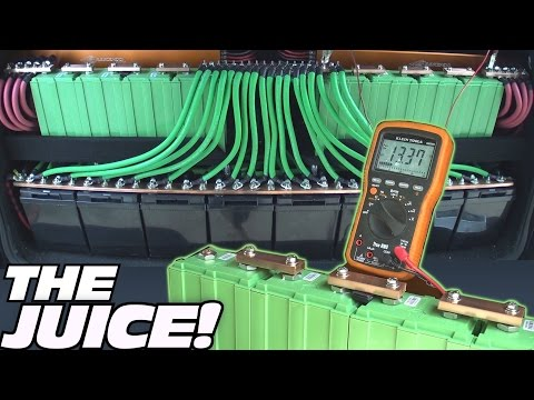 My BIGGEST Battery Bank EVER!! How To Wire DUAL JY Car Audio Batteries in SERIES / PARALLEL Wiring