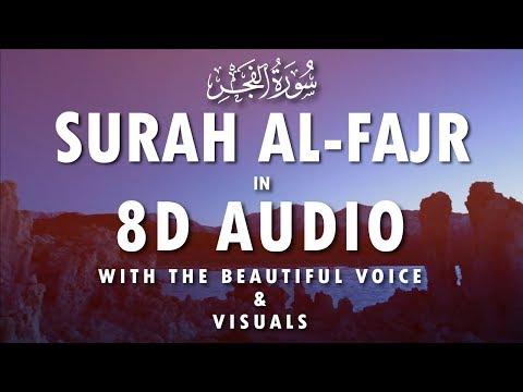 SURAH AL FAJR - سورة الفجر - كاملة - ENGLISH & URDU TRANSLATION | 8D AUDIO | HEAD PHONE RECOMMENDED