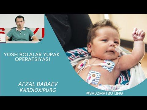 БОЛАЛАРДА ЮРАК ОПЕРАЦИЯСИ/ BOLALARDA YURAK OPERATSIYASI