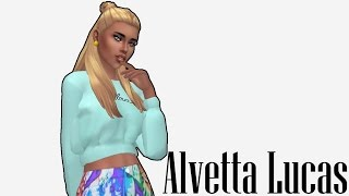The Sims 4 CAS // Aletta Lucas LookBook