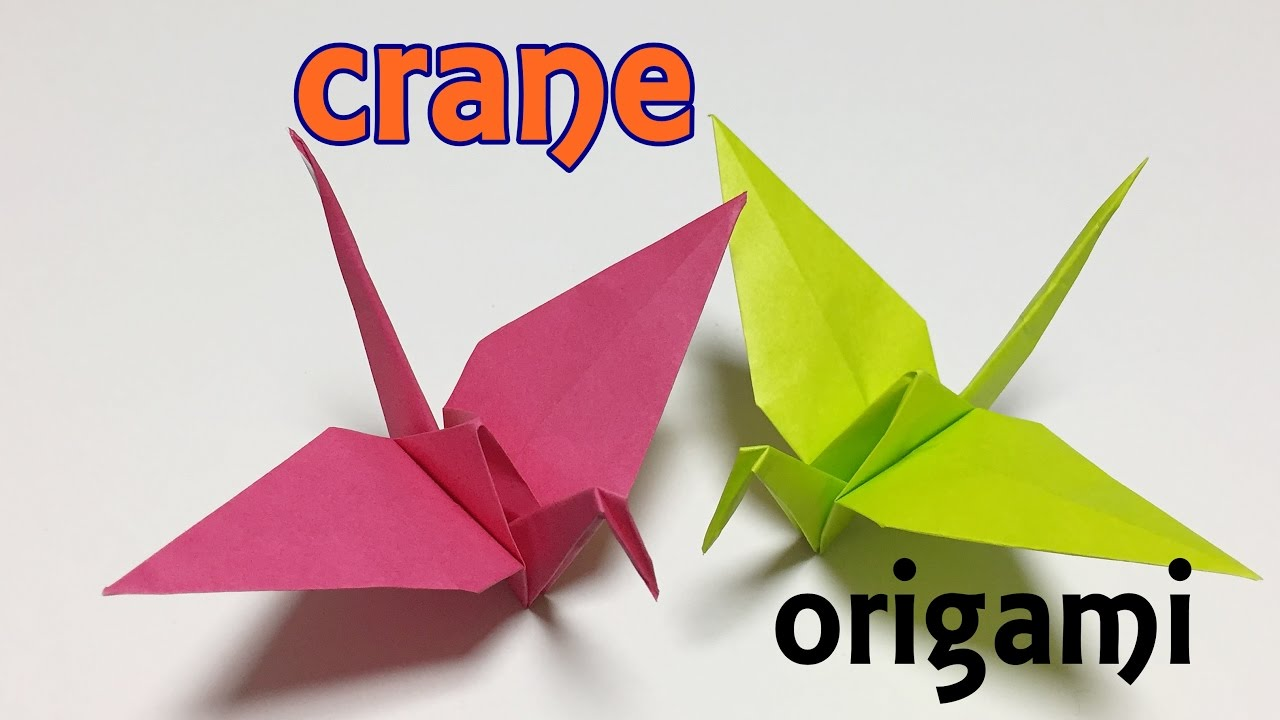 How To Make Origami Crane - Howto Techno | 720x1280